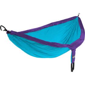 ENO Double Nest Hangmat, blauw/violet